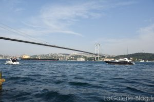 vue sur le bosphore depuis ortakoy istanbul