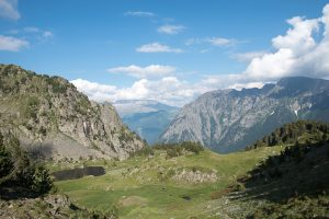 vue pendant la randonnée lac robert