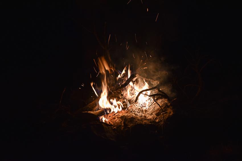 feu de bivouac