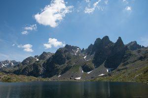 panorama montagnes belledonne lac robert