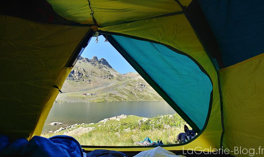 vue depuis tente quechua