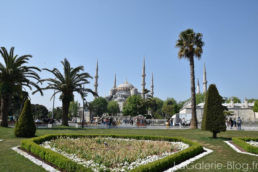 mosquée bleu istanbul vue