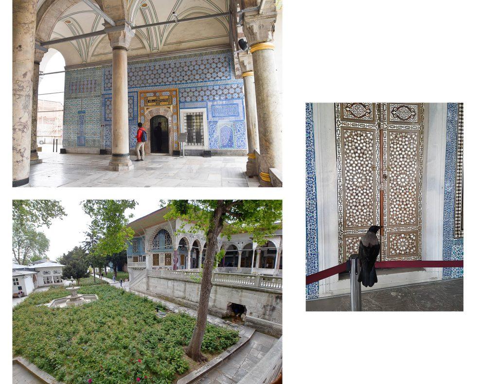 jardins du palais de Topkapi