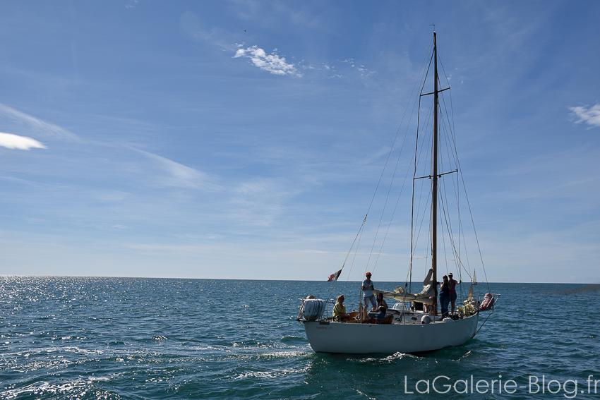 bateau de l'association voiles auriques