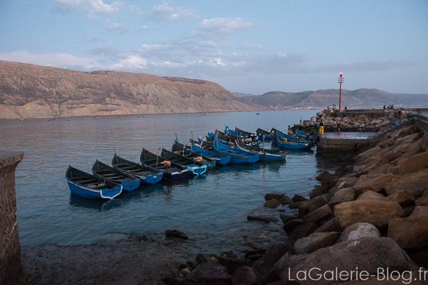 barques pecheurs imsouane