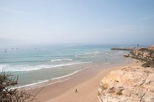 spot de surf la bay imsouane